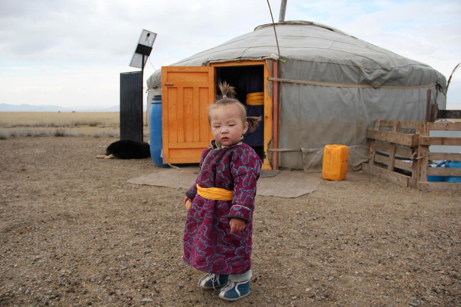 Marina K au Mongolie